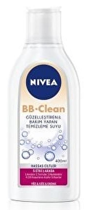 Nivea Nıvea Bb Clean Hassas Cilt Temizleme Suyu 400 Ml Renksiz
